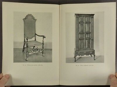 Antique 17th + 18th Century Connecticut Furniture - 1935 Exhibi Catalog