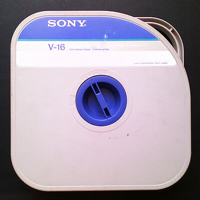 Sony High Band Master Tape V-16. Free Shiping Worlwide