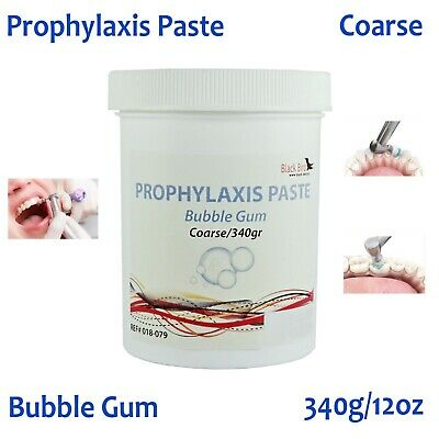 Dental Prophy Paste Prophylaxis Teeth Polish Stain Remove Non Splatter 340g 12oz
