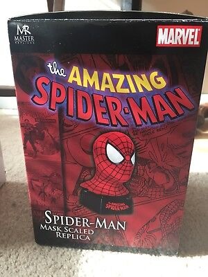Master Replicas The Amazing Spiderman Bust, Master Scaled Replica