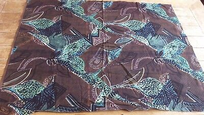 Vintage Mod Max High Quality Abstract Panel piece of Fabric 100 cm x 90 cm
