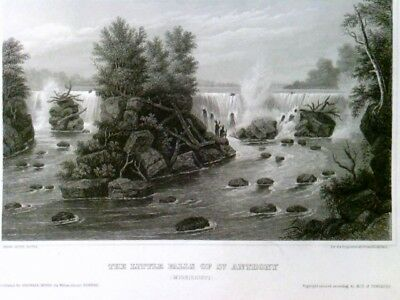 The little Falls of St. Anthony (Mississippi),
