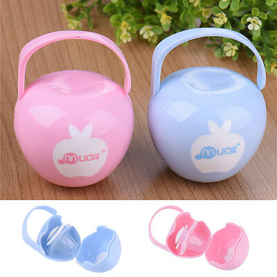 1×Travel Case Box Holder for Baby Infant Dummies Pacifier Soothers Storage BoxHQ