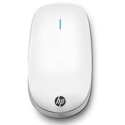 HP Z6000 Bluetooth Wireless 2-Button Optical Touch Scroll Mouse w/1600 dpi & Mag