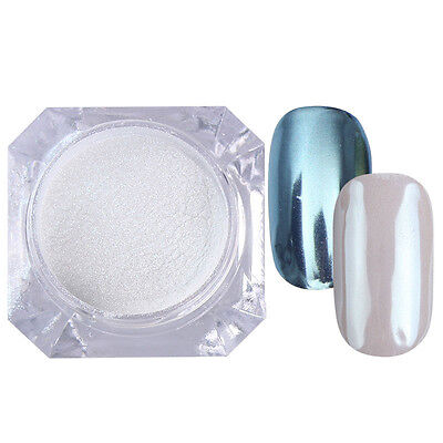 Nail Mirror Glitter Powder Dust Chrome Nail Art  Pigment Born Pretty