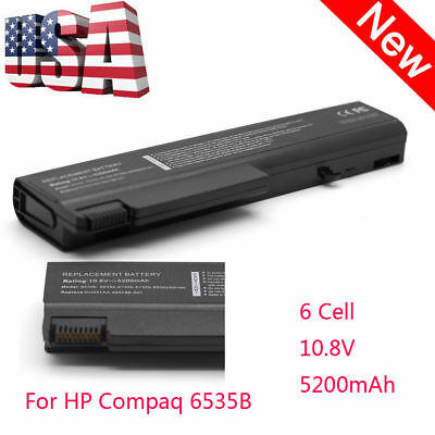 Replacement 10.8V/5200 Laptop Battery 6cell for HP Compaq 6530b 6535B Notebook