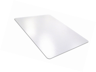 "Desktex PVC Smooth Back Desk Mat, 20"" x 36"", Rectangular, Clear (FBDE2036V)"