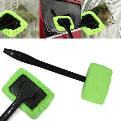 Car Window Cleaner Dust Care Windshield Towel Cleaning Fiber Brush Washer Tool