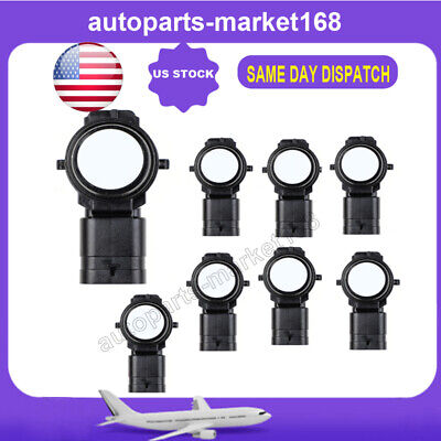 8X Parktronic PDC Parking Sensor 66209261587 for BMW F20 F22 F30 F31 F32 F35 F80
