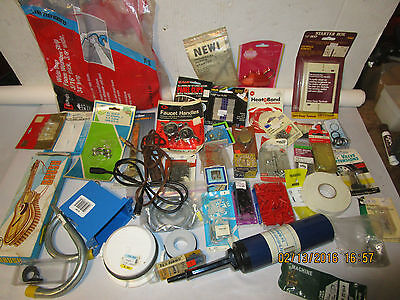 large estate lot of vintage hardware and household items most in original boxes