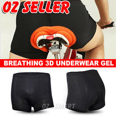 Women Men Cycling Bike Bicycle Sports Shorts Underwear 3D Gel Padded Short Pants
