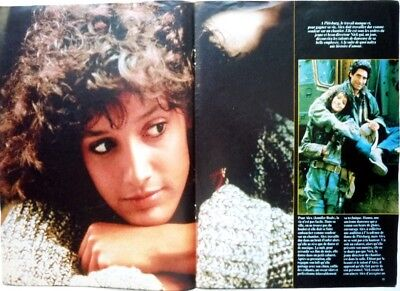 JENNIFER BEALS (FLASHDANCE) => 4 pages 1983 FRENCH clipping / FREE SHIPPING!!!
