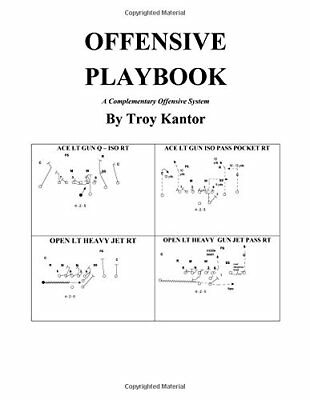 Offensive Playbook: A Complementary Offensive System (Troy Edward Kantor) | Crea