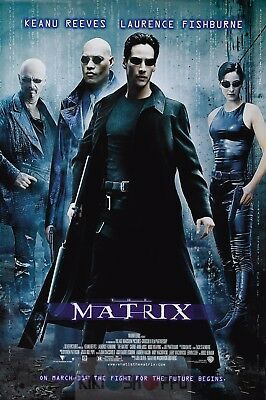 Poster A3 Matrix Keanu Reeves Pelicula Film Cartel 01