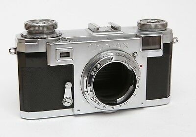 ZEISS IKON CONTAX IIa-body-broken for parts-for repair or parts donor