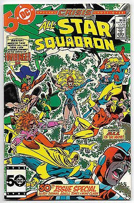 All-Star Squadron #50 (Oct 1985, DC Comics) Crisis Tie In Harbinger Story