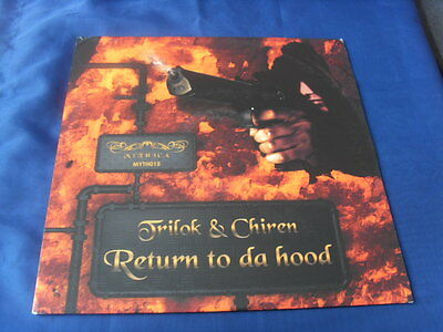 "12""- Trilok & Chiren Return To Da Hood Crime Vendetta Street Knowledge Gangsta"