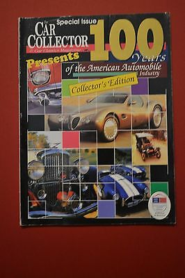 Car Collector and Car Classics 100 YEARS OF THE AMERICAN AUTOMOBILE JANUARY 1996