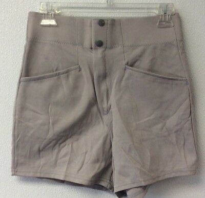 Vintage Made In Usa New Coaches Shorts Gray Sports Belle Inc Adult Small Nylon
