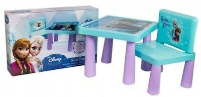 NEW Frozen Sit and Colour Table and Chair