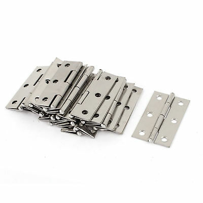 Surface Mount Hinge Door Hinges Lot Cabinet Fence Gate Closet Stainless Steel