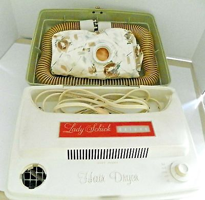 Vintage Lady Schick Deluxe Model 304 Portable Hair/Nail Dryer