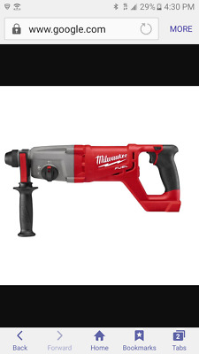 Milwaukee 2713-20 18V FUEL SDS PLUS HAMMER DRILL+SDS ADAPTER TOOL ONLY