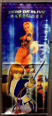 Dead Or Alive Ultimate Wall Scroll Xbox Promo Kasume And Tina