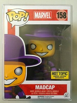Funko Pop Hot Topic Exclusive Deadpool MADCAP (Marvel Universe) Mystery Box