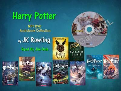 The Complete HARRY POTTER Series JK Rowling Read By Jim Dale (9 MP3 Audiobooks)