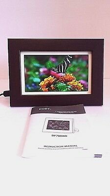"""Coby 7"""" Digital Widescreen Picture Frame DP700WD"""