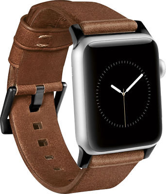 NOMAD Modern Horween Leather Strap For Apple Watch 42mm - Brown