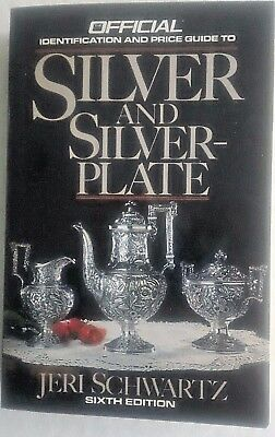 1989 Identification & Price guide to Silver & Silver-Plate-6th Ed.-Jeri Schwartz