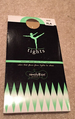 Revolution Dancewear Convertible Tights Adult XL NEW Free Shipping! like Capezio