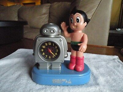 Vintage Japan Japanese Mighty Atom Astro Boy Robot Alarm Clock Toy Anime