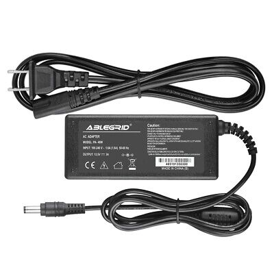 12V CENTER POSITIVE 2 5A-3A AC Adapter LCD Charger Power