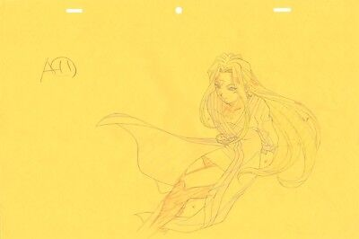 Anime Genga not Cel Ah My Goddess 2 pages #2