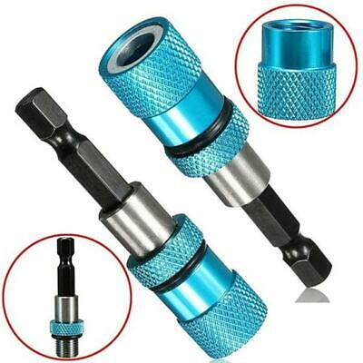"1/4"" Hex Shank Screwdriver Bit Holder Quick Release Magnetic Drill Screw JJ"