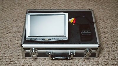 "GENTLY USED Ikan VL7 7"" Widescreen HDMI LCD Monitor Sony Battery Kit"