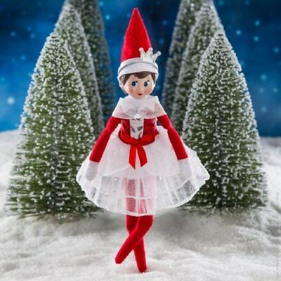 NEW 0401B  Elf on the Shelf Claus Couture  Peppermint Princess Gown / Dress