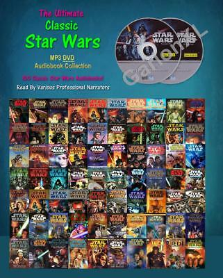 The Ultimate CLASSIC STAR WARS Collection (100 MP3 Audiobooks)