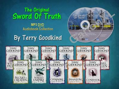 The Complete Original SWORD OF TRUTH Series Terry Goodkind (11 MP3 Audiobooks)
