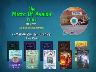 The Complete AVALON Series By Marion Zimmer Bradley (10 MP3 Audiobooks)
