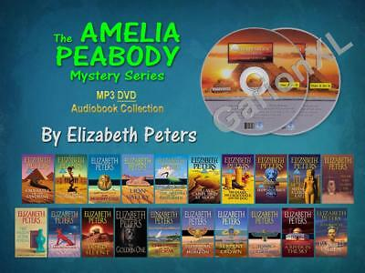 The Complete AMELIA PEABODY Series By Elizabeth Peters (20 MP3 Audiobooks)