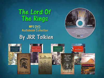 The Ultimate LORD OF THE RINGS Series Collection JRR Tolkien (8 MP3 Audiobooks)