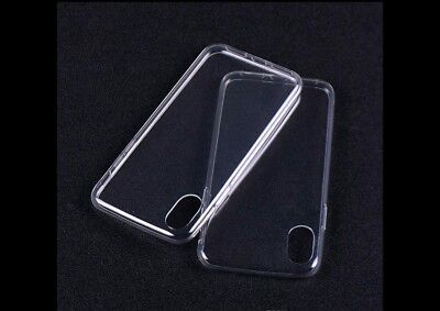 IPhone X Ultra Thin Clear Transparent Silicone Gel Shockproof Proof case