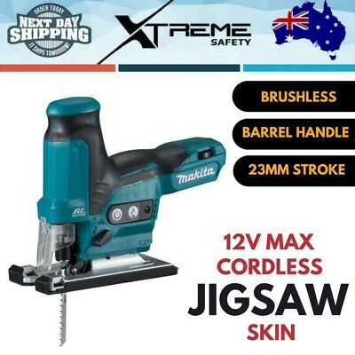 Makita 12V MAX Cordless Brushless 23mm Jig Saw Barrel Handle Jigsaw Skin Only