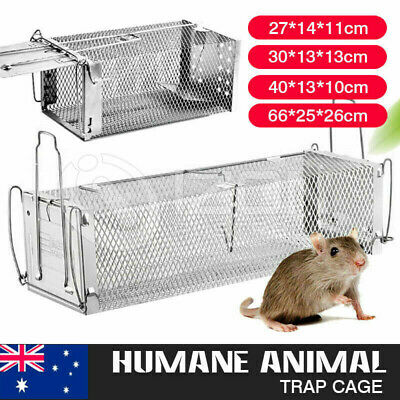 Humane Animal Trap Catch Cage Live Fox Rat Possum Rabbit