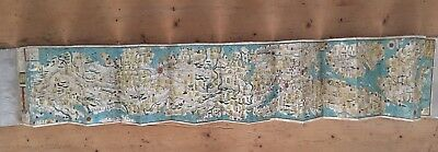 Map of Japan 1865 Woodblock. Fine. Collectors piece.