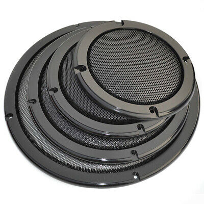 "4/5/6.5/8/10 "" Couvrir Audio Haut-parleur Decorative Circle Metal Mesh Grille"